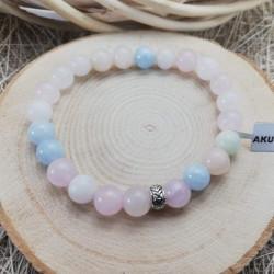 Heliodor Aquamarine Morganite Bracelet