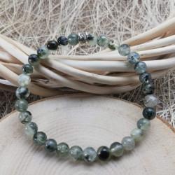 Prehnite Stone Bracelet